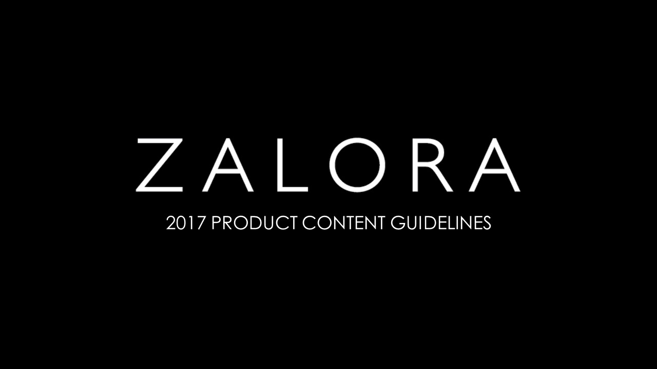 2017 New Product Content Guidelines