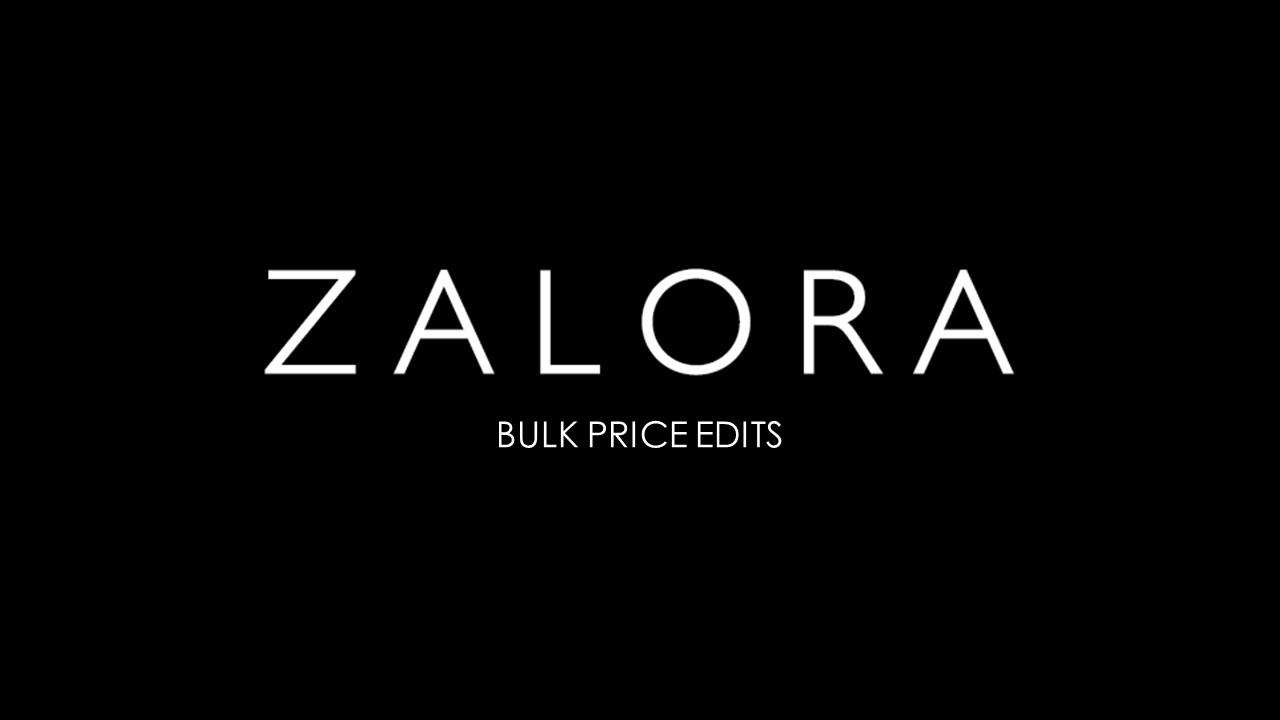 Bulk Price Edits