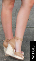 Shop Our Latest Arrivals Beige Wedges
