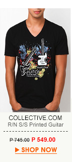 Printed T-Shirt Guitar