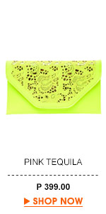 Pink Tequila Clutch
