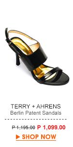 Berlin Patent Sandals