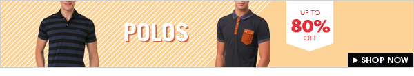 SHOP POLOS UP TO 80% OFF