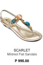 Mildred Flat Sandals