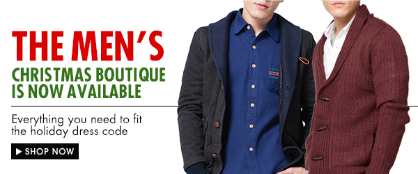The Men's Christmas Boutique is now Availabe