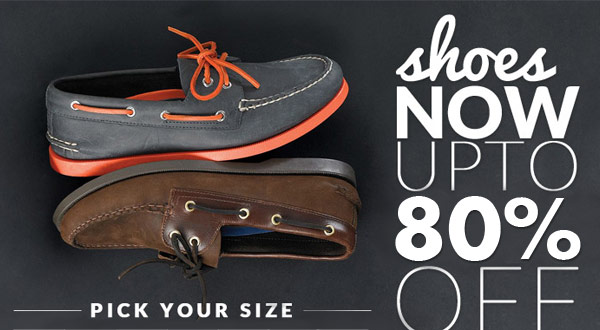 Shoes Now Up to 80% OFF