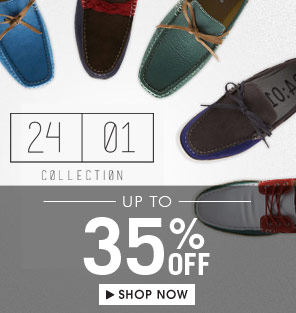 Shop 24:01 Collection Up tp 35 % OFF