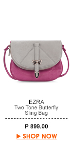 Two Tone Butterfly Sling Bag