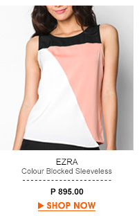 Colour Blocked Sleeveless