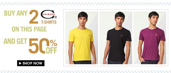 Crimsons T-Shirts