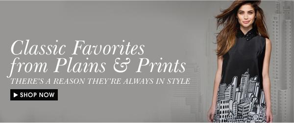 Shop Plains & Prints