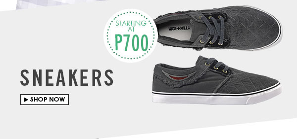 Sneakers Starting at P995