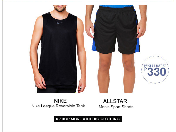 Shop More Athletic Clothing!