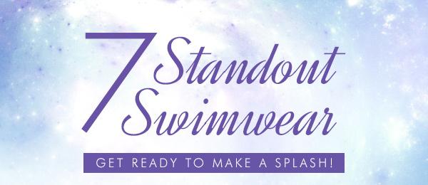 Make a Splash in These Standout Swimwear!